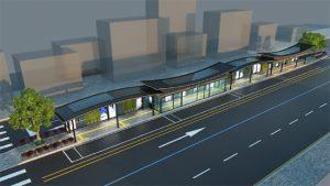 """首尔市区着手修建未来型公交车站""""智能候车亭"""""""