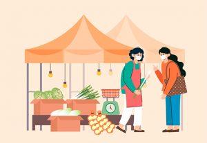 为顺应零接触时代潮流,首尔市为个体工商业者及传统市场商人提供线上市场支援
