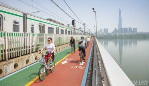 10月正式启动市民创建的首尔市自行车道系统