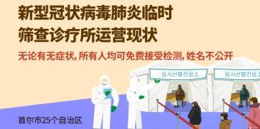 首尔市新设临时筛查诊疗所,实现新型冠状病毒肺炎全民检测