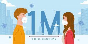 保持社交距离2级防疫政策延长2周至4月11日