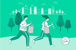 举办环保市民参与活动纪念地球日