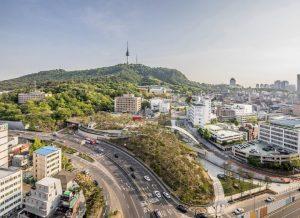 首尔市正式开放南山艺场公园