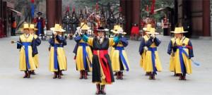 王宫守门将换岗仪式