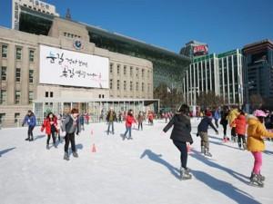 首尔广场滑冰场