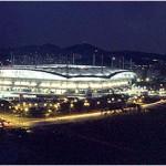 Seoul World Cup Stadium from Nanjido(Night)
